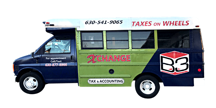 Taxes on wheels van